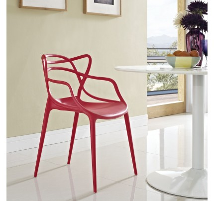 Nest Dining Chair - Red
