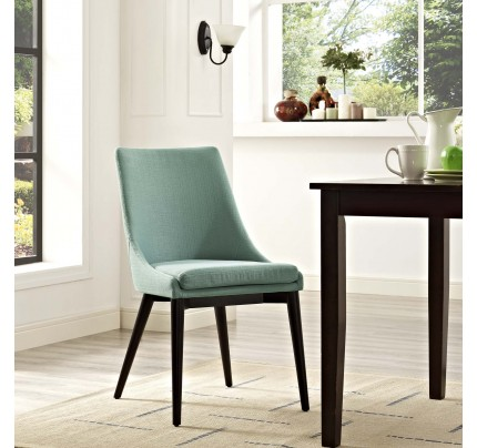 Viscount Fabric Dining Chair - Laguna