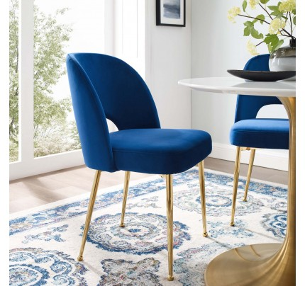 Rouse Dining Room Side Chair - Navy
